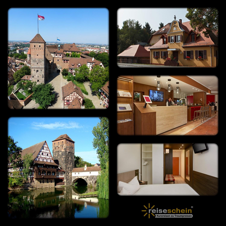 3 Tage Urlaub im 3*S H+ Hotel Nürnberg erleben
