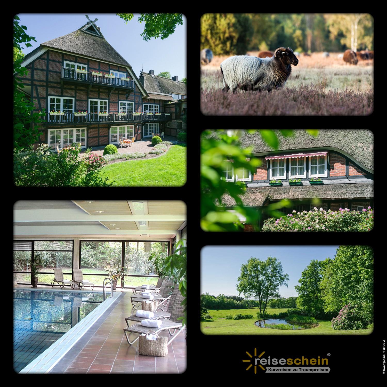 3 Tage im Hotel Landhaus Höpen in der Lüneburge...