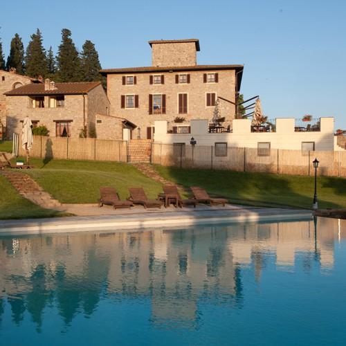 Vorschaubild von 4 Tage im **** Villa San Filippo in San Filippo nahe Florenz in der Toskana