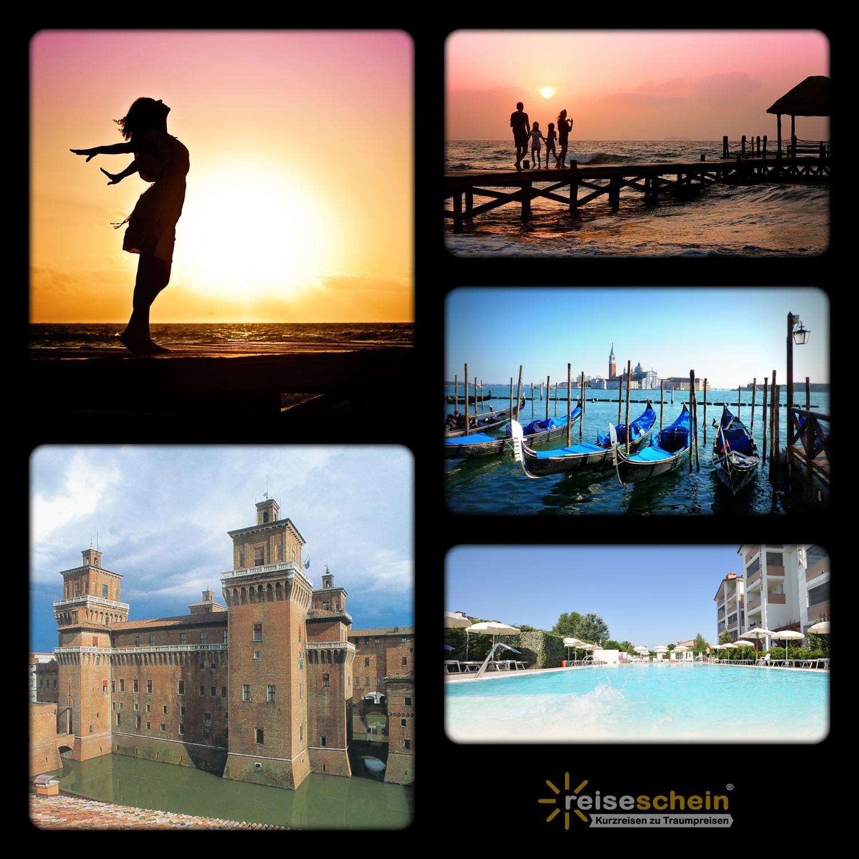 Vorschaubild von 4 Tage Strandurlaub in der Residence Cleo in Italien - Lido degli Estensi