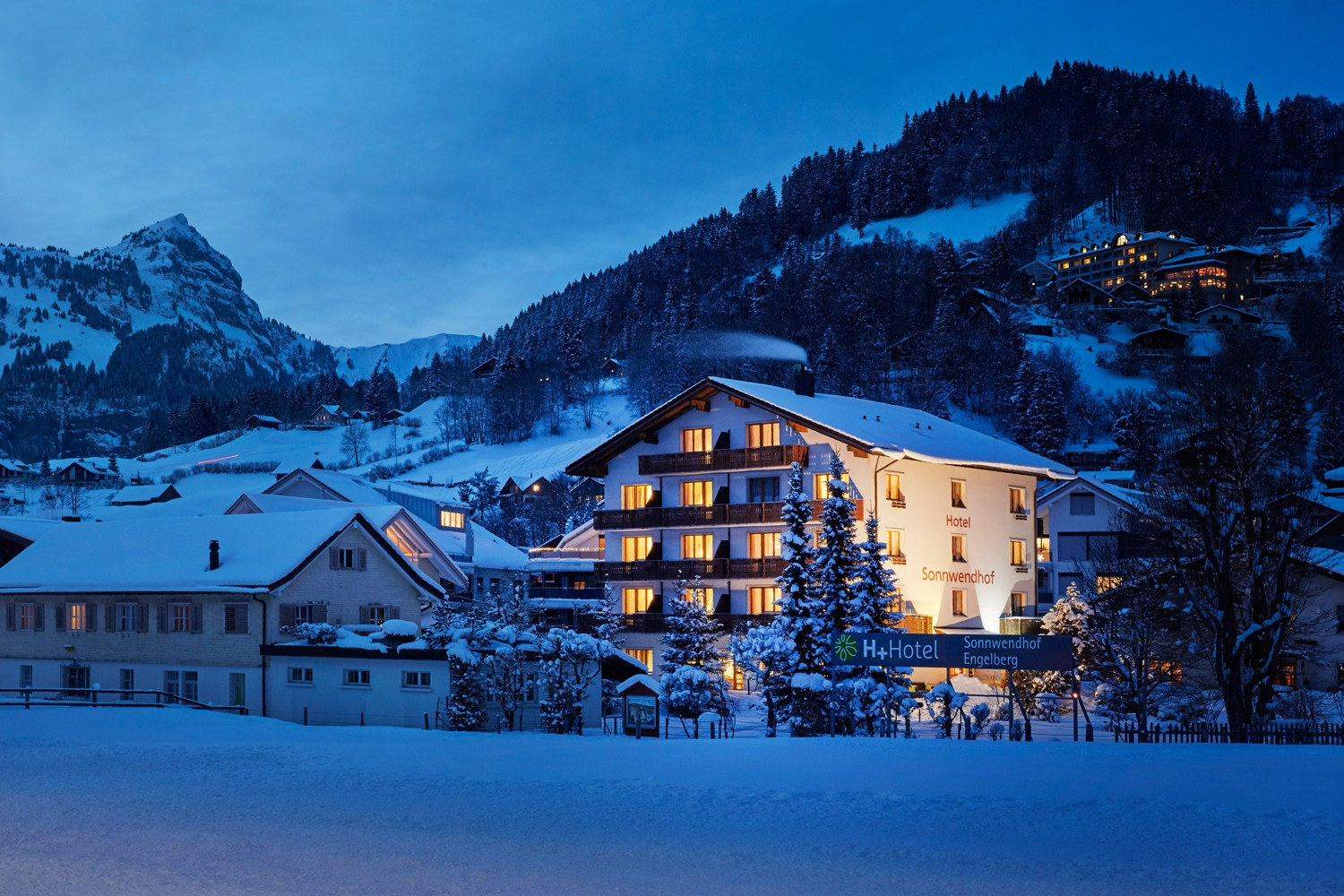 3 days in the beautiful mountain panorama - H+ Hotel Sonnwendhof *** in Engelberg