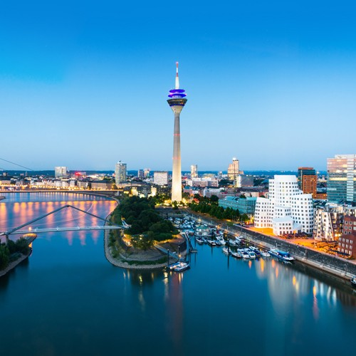 4 days Düsseldorf explore in a 4 stars  Secret Hotel