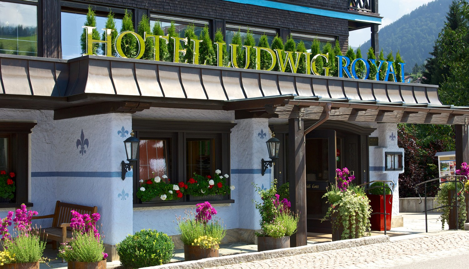 4 days relaxing in 4 **** S Hotel Ludwig Royal in Oberstaufen - Allgäu