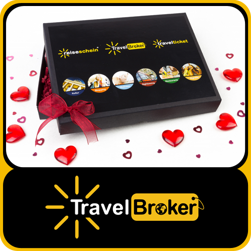 Gift Box for your Travelticket - As holiday's inside!